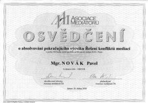 AMCR, Mediacni vycvik pokracovaci