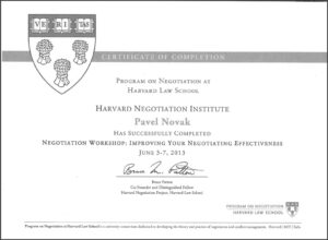 Harvard, Imroving Negotiating Efectiveness