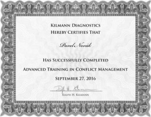 Kilmann, Advanced Conflict Mng