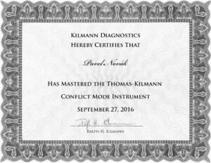 Kilmann, Conflict Mode Instrument