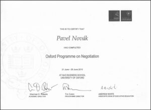 Oxford, Programme on Negotiation